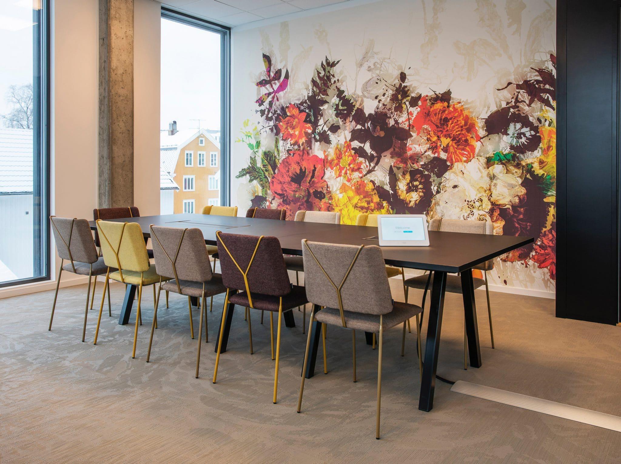 Aarsland møbelfabrikk konferansebord