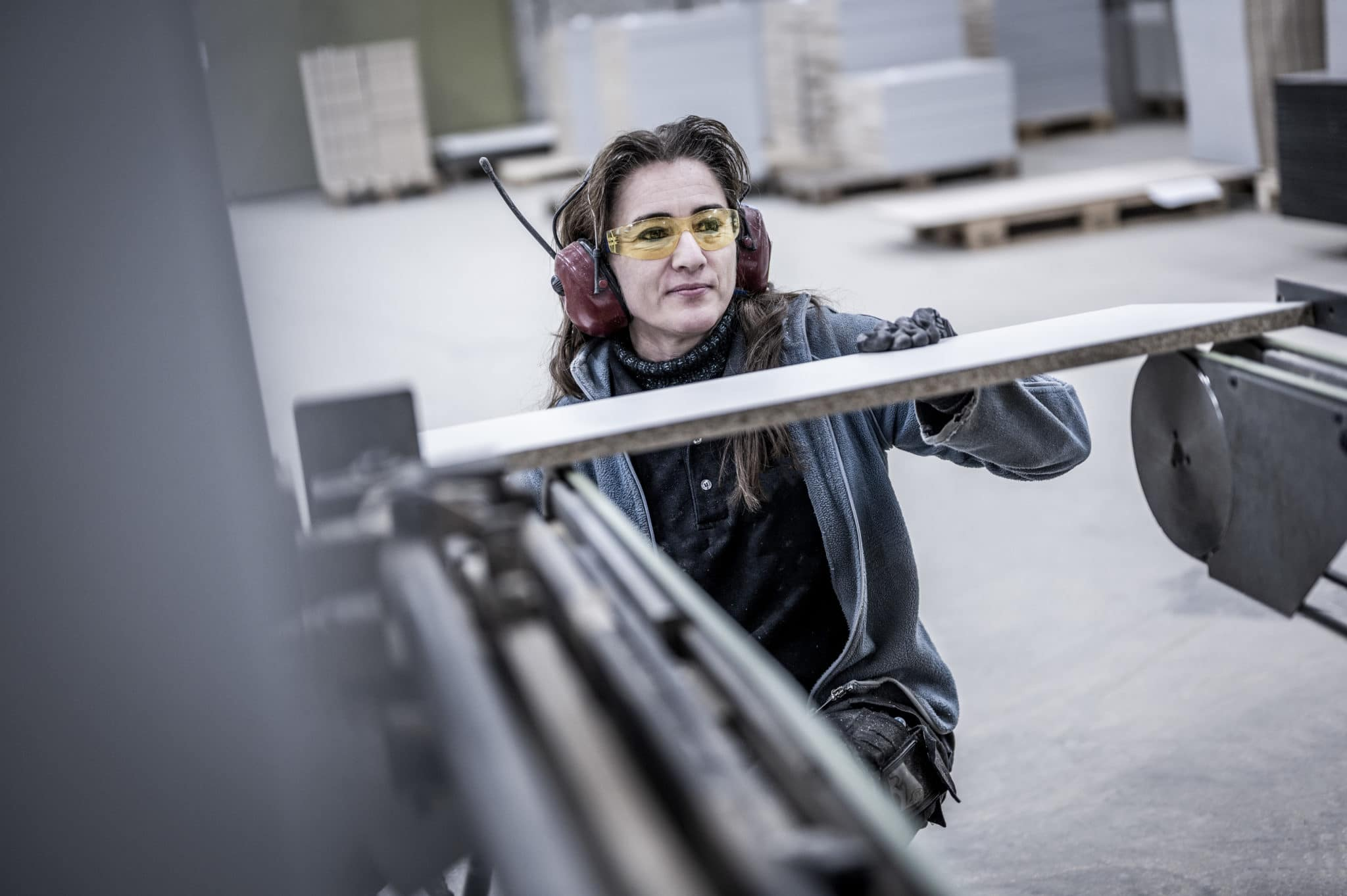 Aarsland møbelfabrikk produksjon