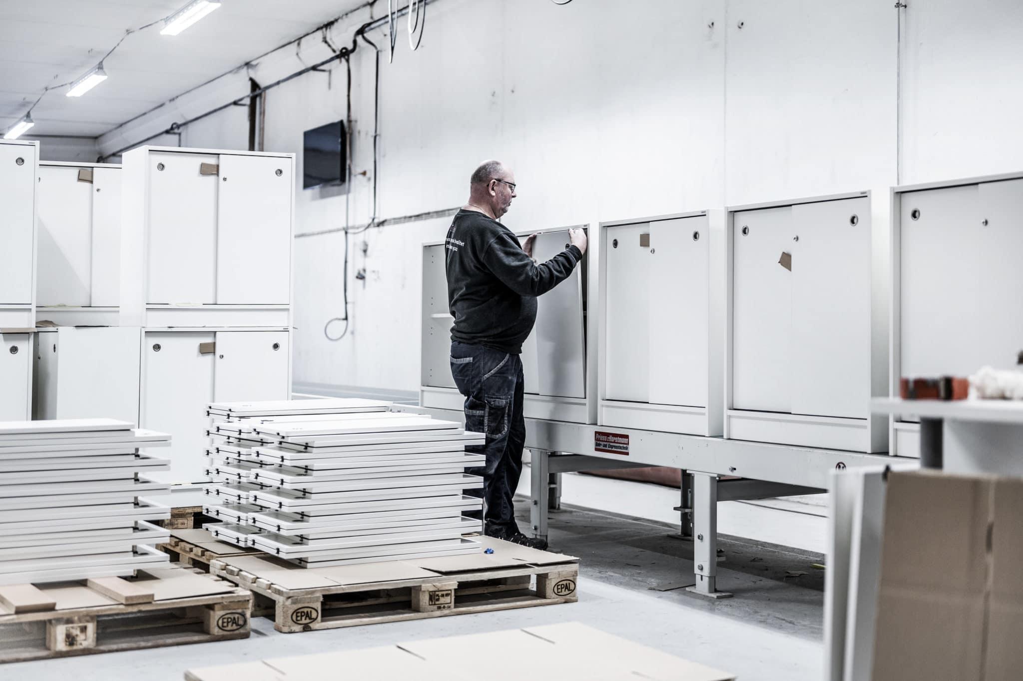 Aarsland møbelfabrikk pakking